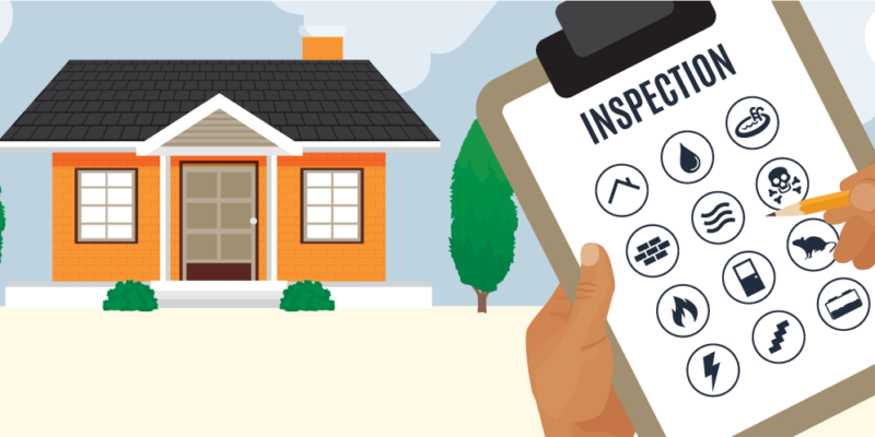 home inspection checklist Gregory Property Management